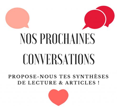 """Featured image for """"Les conversations à venir"""""""