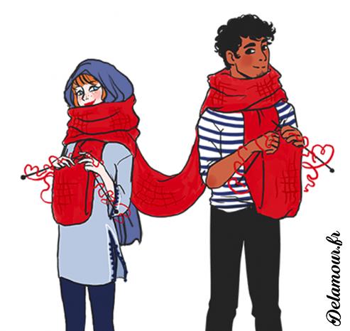 """Featured image for """"Aimer, c'est être un vêtement l'un pour l'autre"""""""